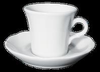 Cappuccino 170ml šálka Ancap CLAUDIA s podšálkou