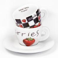 Cappuccino šálky Ancap FRAGOLE set C 2ks