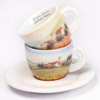 Espresso šálky Ancap CONTRADE ITALIANE set B 2ks
