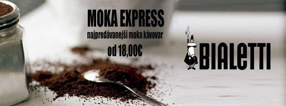 Bialetti Moka Express Akcia