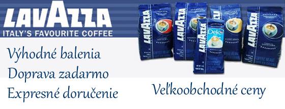 káva lavazza baner