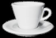 Cappuccino 190ml šálka Ancap FAVORITA s podšálkou
