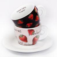 Cappuccino šálky Ancap FRAGOLE set A 2ks
