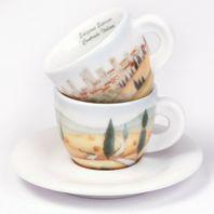 Espresso šálky Ancap CONTRADE ITALIANE set C 2ks