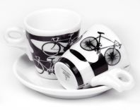 Espresso šálky Ancap ITALIA in BICI set A 2ks