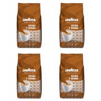 Lavazza Crema e Aroma zrnková káva 4x1kg