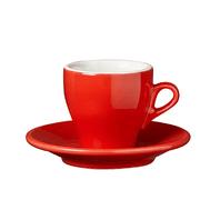 Milano cappuccino/lungo 155ml červená