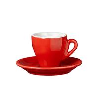 Milano espresso 65ml červená