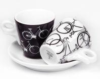 Espresso šálky Ancap ITALIA in BICI set C 2ks